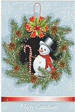 interestprint Vintage Christmas Weihnachts Stiefel mit Geschenk Polyester Garten Flagge Haus Banner 30,5x 45,7cm, Winter neue Jahr Fahne Deko Urlaub für Party Yard Home Outdoor Decor, Polyester, Multi 6, 12x18