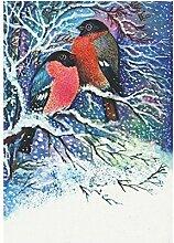 interestprint Weihnachten Schneemann mit Laterne,