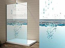 Interfoil Glas duschkabinen Aufkleber, Sichtschutz