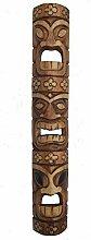 Interlifestyle Holzmaske Tiki im Hawaii Look in