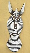 Interlifestyle Wandmaske Zebra 50cm Afrika