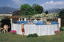 Interline 50000042 rund Pool Diana Durchmesser 5,50m, Tiefe 1,32m, Set ohne Sandfilter