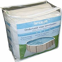 Interline 55600213 Unterleg Pool Vlies / Bodenvlies 3,20m x 5,30m 200g/m²