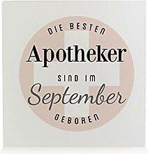 Interluxe HOLZBLOCK Shabby Apotheker September