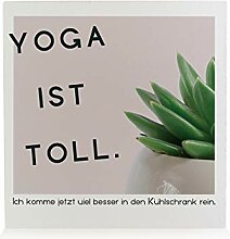 Interluxe moderner HOLZBLOCK Dekoration Yoga IST