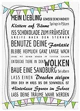 Interluxe Shabby Vintage WANDTAFEL Schild
