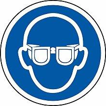 International ISO Augenschutz erfordert Symbol