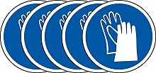 International ISO Handschuhe Pflicht Symbol