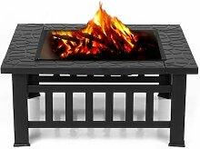Interouge Barbecue Feuerkorb Feuerschale