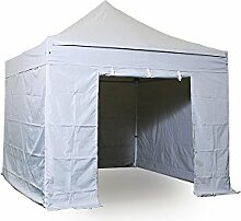 INTEROUGE - Pavillon Faltzelt 3x3m mit 4