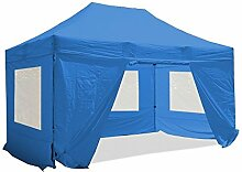 INTEROUGE - Pavillon Faltzelt 3x4,5m mit 4