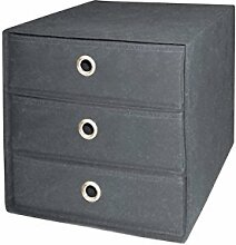 Intertrade 1543 Faltbox Beta 3 mit 3 Schubkästen,