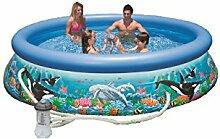 Intex 12362 Pool für den Sommer, blau
