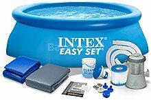 INTEX 28112 244x76 cm 7in1 Easy Set Pool Set mit