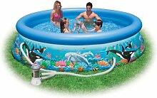 Intex 28126 Ocean Reef Easy Set Pool,