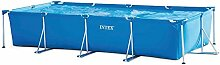 INTEX 28273NP Rectangular Frame Pool Blue, 450x220x85cm
