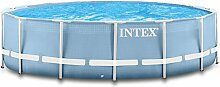 Intex 457x122 Ersatzpool mit Gestänge und Anschlüssen Swimming Pool Schwimmbad Frame Metal Stahlwand