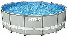 Intex 549x132 cm Schwimmbecken Swimming Pool Schwimmbad Ersatzpool Frame metal