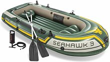 INTEX 68380 Boot Seahawk 3 Schlauchboot Angelboot