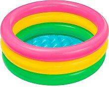 Intex Aufblasbares Planschbecken mit 3 Ringen 61 x