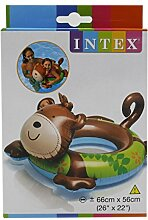Intex Aufblasbares Schwimmbecken Animal Swim Ring Float Affe Form