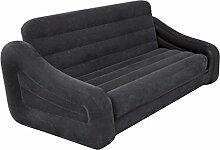 Intex aufblasbares Sofa mit ausziehbarem Bett, für 2 Personen, # 68566 marineblau