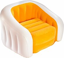 Intex Aufblasmöbel Loungen Sessel Cafe Club Chair, Mehrfarbig, 97 x 76 x 69 cm (Farblich Sortiert)
