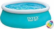 Intex Aufstellpool Easy-Pool Set, blau, Ø 183 x