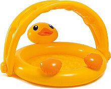 Intex Baby Pool Ducky Friend mit Sonnenschutz