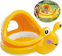 Intex Baby-Pool Schnecke mit Sonnendach &