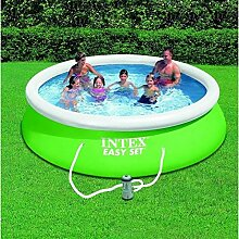 Intex Easy Pool Set Set grün 366 x 366 x 84 cm 6200 L