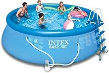 Intex Easy Set Pool, 457 x 122 cm,Mit Fiterpumpe