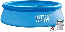 Intex Easy Set Pool - Aufstellpool - mit Filter,