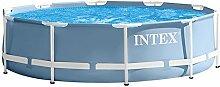 Intex-Frame-Pool-Set, blau 305x 305x 76 cm, 4.500l, 28702NP