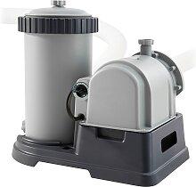 Intex Kartuschen-Filterpumpe RCD Krystal Clear,