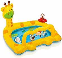 Intex Kinderplanschbecken Lachende Giraffe