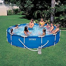 Intex Metall-Frame Pool-Set 366x76cm m.