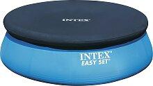 Intex Pool-Abdeckplane, Ø: 457 cm B/L: 47 x blau