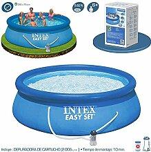 Intex Pool Easy Set Mit filterpump 305 cm x 76 cm