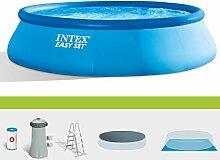 Intex Pool Easy Set Pool 457x 122cm + Pumpe Filter Garten