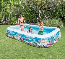 Intex Pool Swimcenter Sealife, für Kinder, BxLxH: