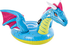 Intex Schwimmtier Dragon Ride-on 201x191 cm
