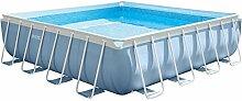 Intex Square oberirdisches Schwimmbecken/Pool, quadratisch, 488x 488 cm