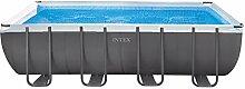 Intex - Stahlrahmenbecken mit Filterstation und