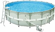 Intex Ultra Frame Pool Set, Ø 488 x 122 cm, mit