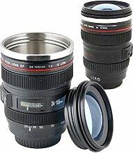 Into Focus: Kameralinse Tasse