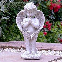 INtrenDU Engel Figur Betend 39cm Grabengel
