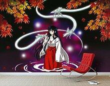 Inuyasha Weiße Schlange Monster Anime Wandpapier