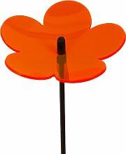 Invento 101132 - Light Catcher 3D Flower 20 cm, orange