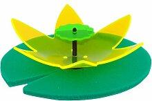 Invento 101154 - Light Catcher 3D Water Lily, gelb / grün